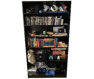 Custom Built Adjustable Bookcase