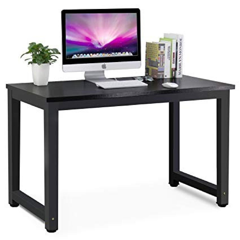Tribesigns Modern Minimalist Style Computer Desk & Chair - image-0