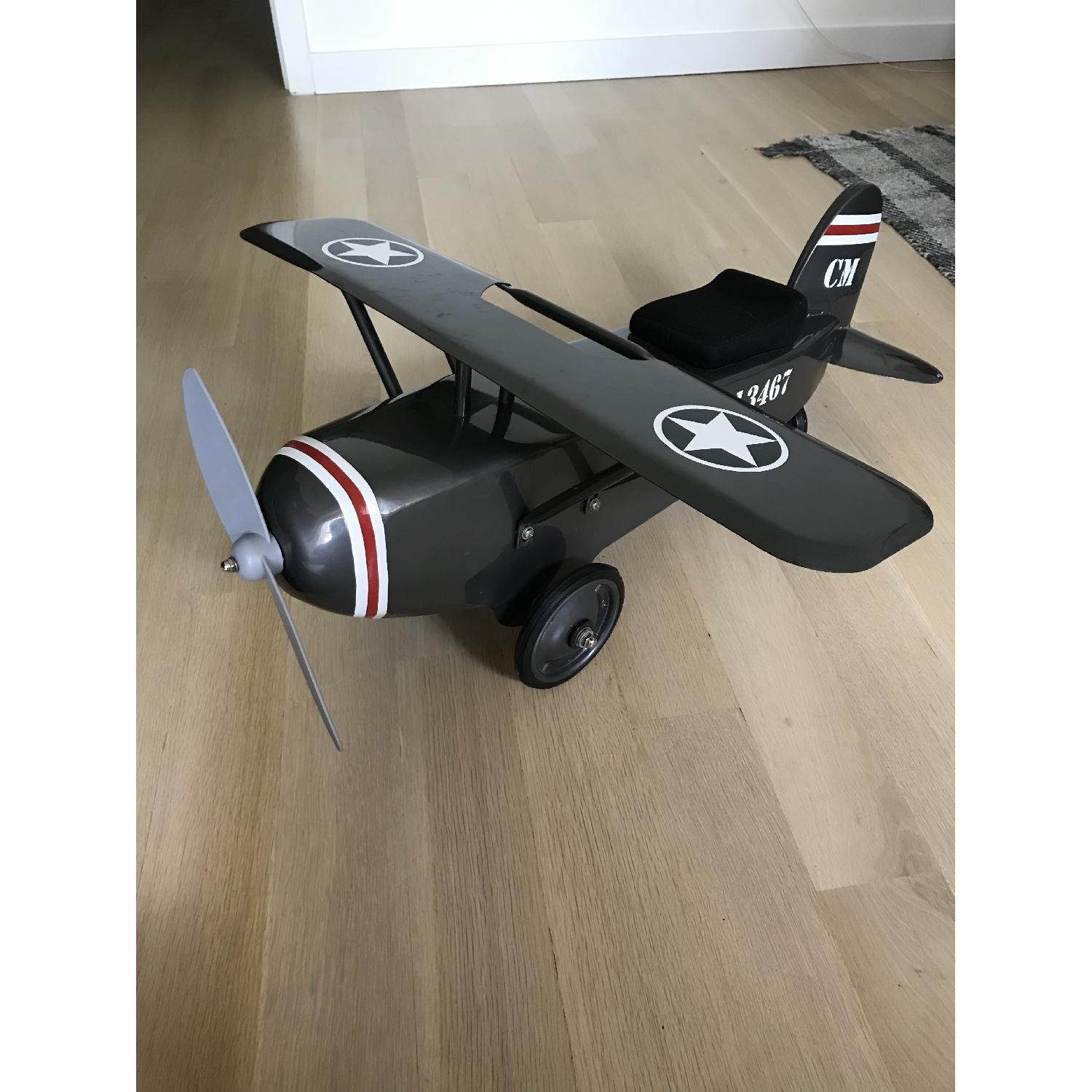 Restoration Hardware Baby and Child Vintage Army Plane Scoot-2