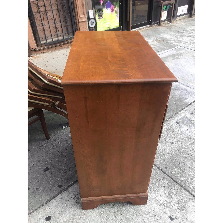 Ethan Allen Vintage Mid Century Solid Maple & Birch Dresser - image-3