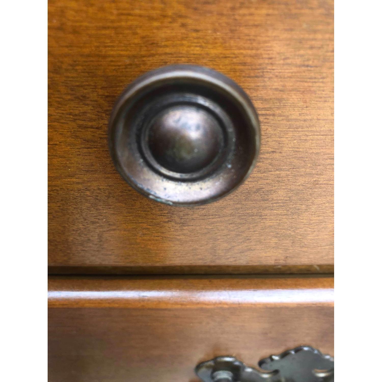 Ethan Allen Vintage Mid Century Solid Maple & Birch Dresser - image-8
