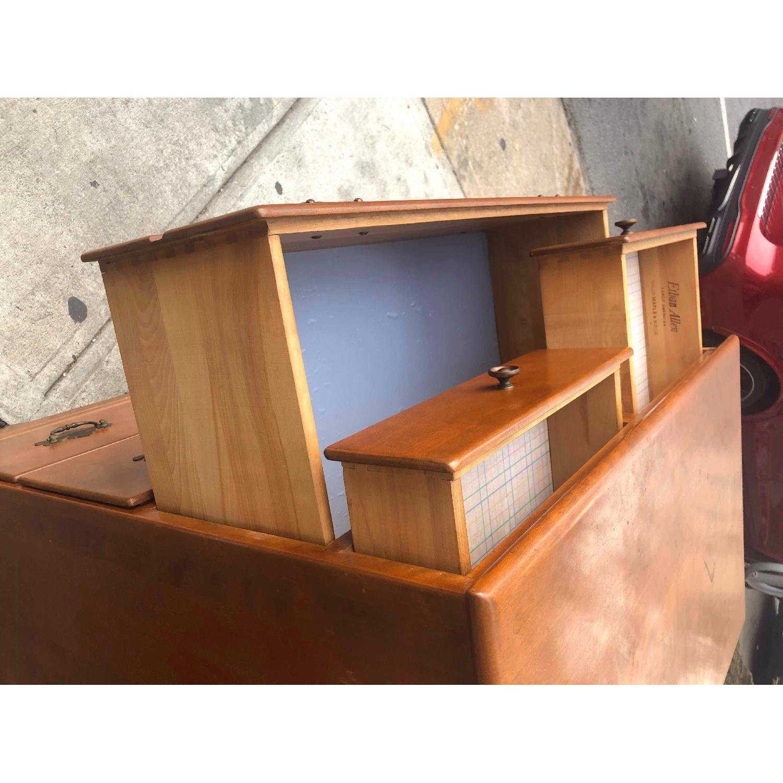 Ethan Allen Vintage Mid Century Solid Maple & Birch Dresser - image-9