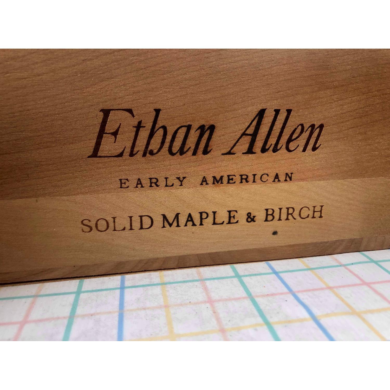 Ethan Allen Vintage Mid Century Solid Maple & Birch Dresser - image-11