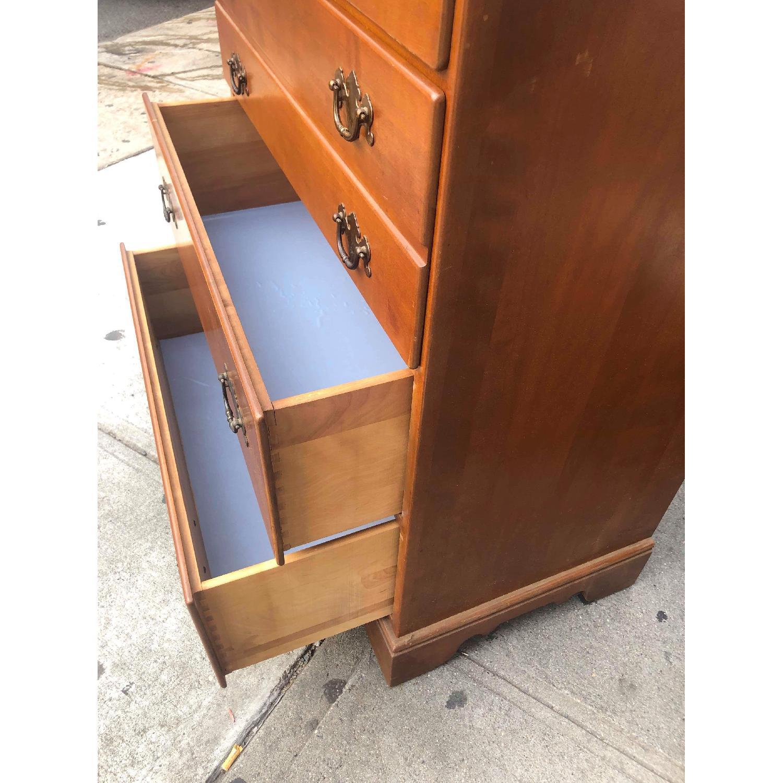 Ethan Allen Vintage Mid Century Solid Maple & Birch Dresser - image-13