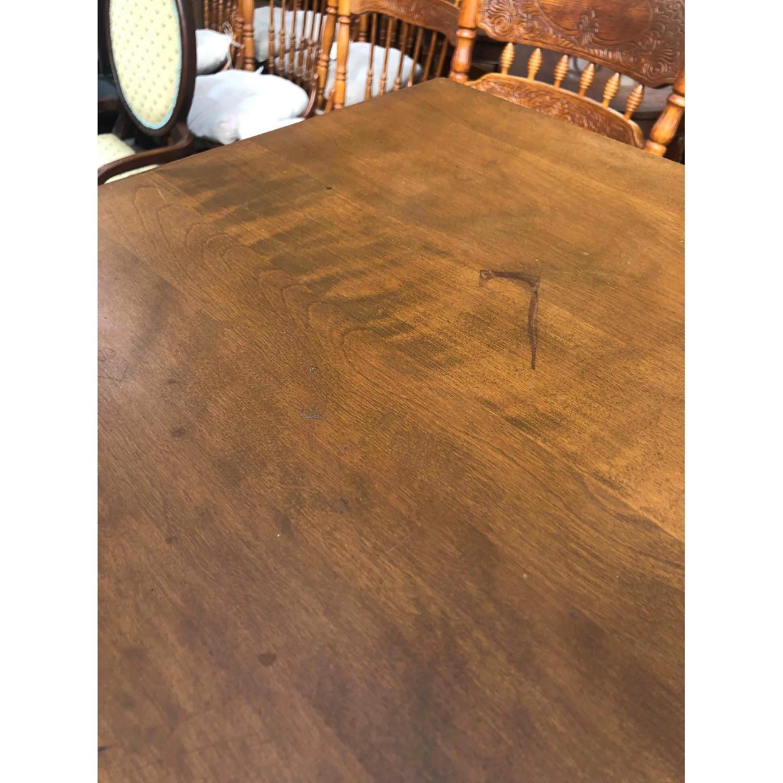 Ethan Allen Vintage Mid Century Solid Maple & Birch Dresser - image-15