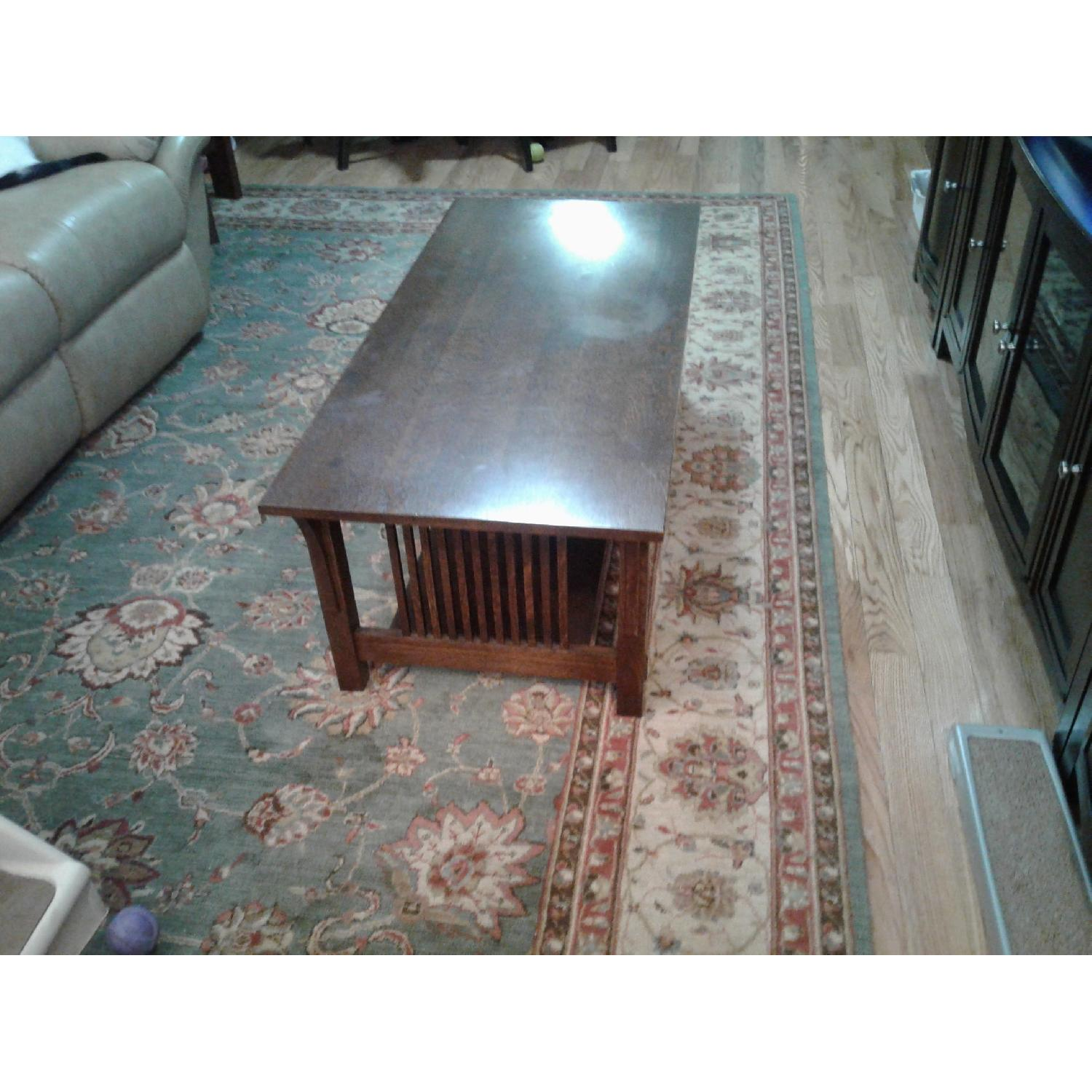 Stickley Audi & Co Mission Coffee Table - image-1