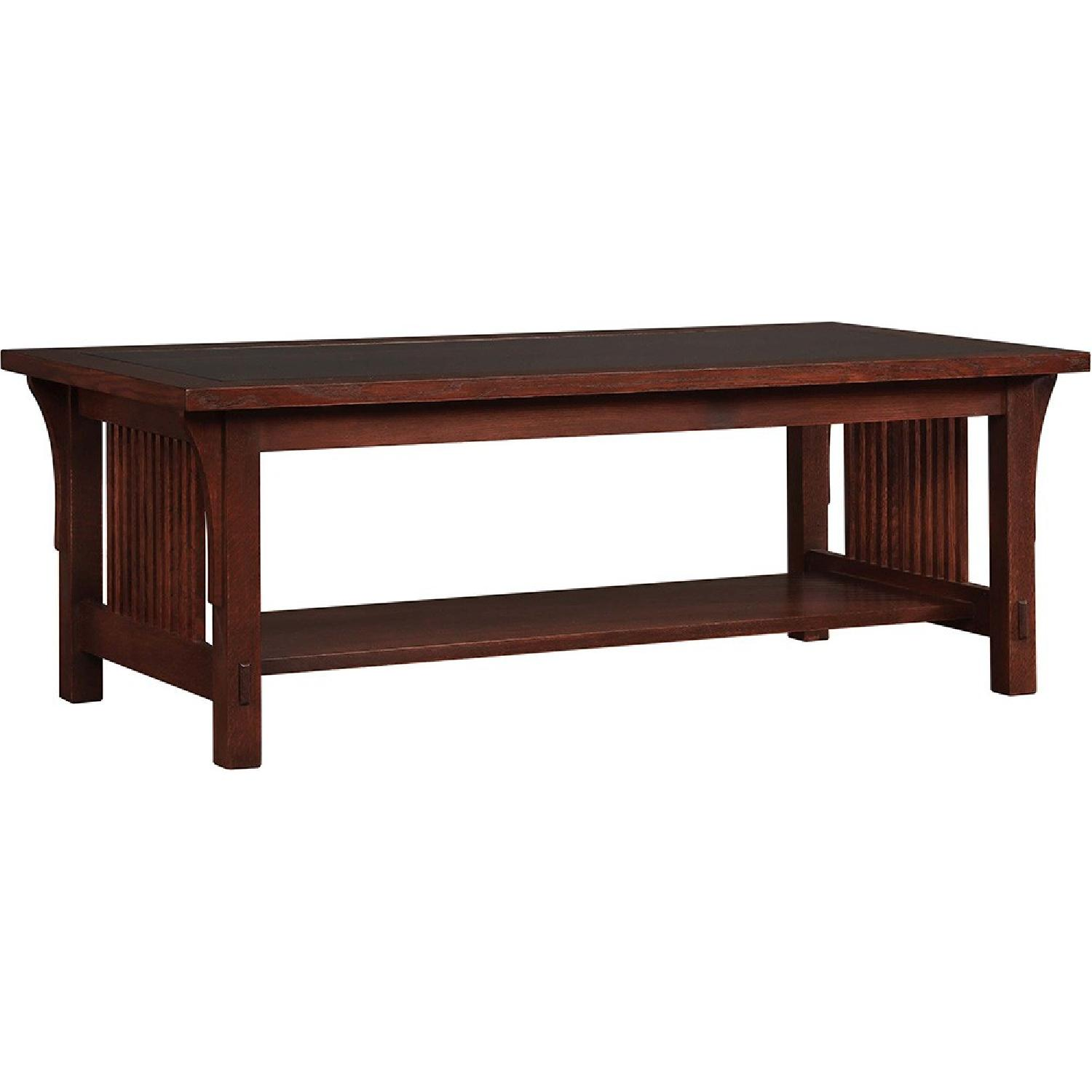 Stickley Audi & Co Mission Coffee Table - image-0