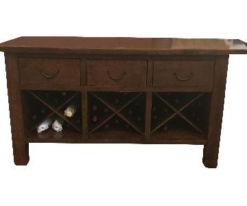 Pottery Barn Conrad Chestnut Buffet