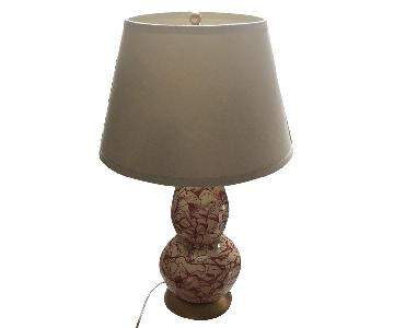 Safavieh Coral Color Swirl Lamp