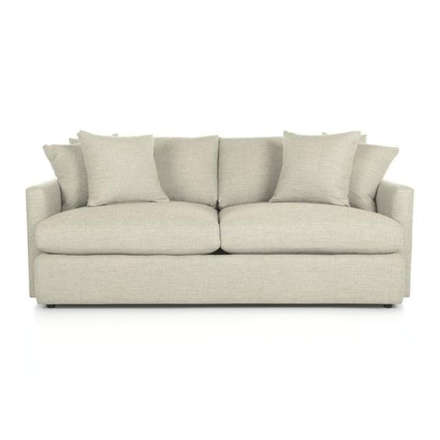 Crate & Barrel Lounge II Modern Sofa