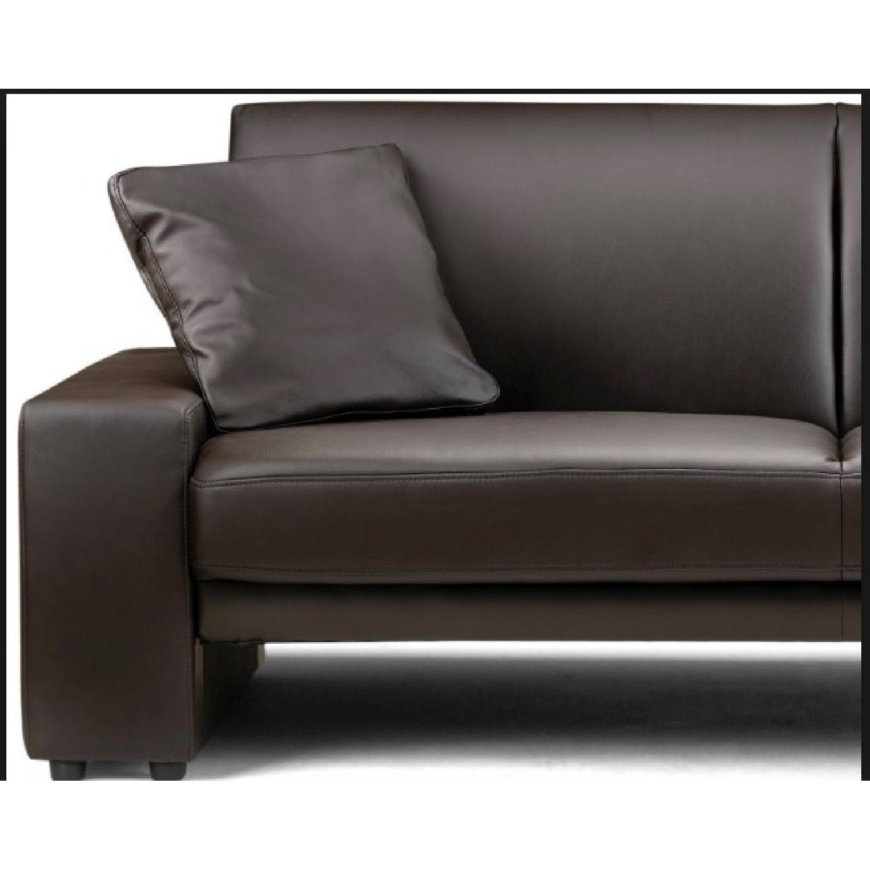 Ikea Faux Leather Sofa - image-2