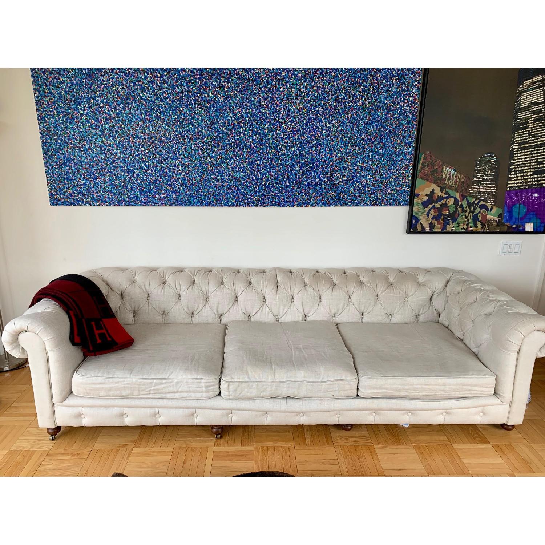 Restoration Hardware Kensington Luxe Edition Large Sofa - image-1