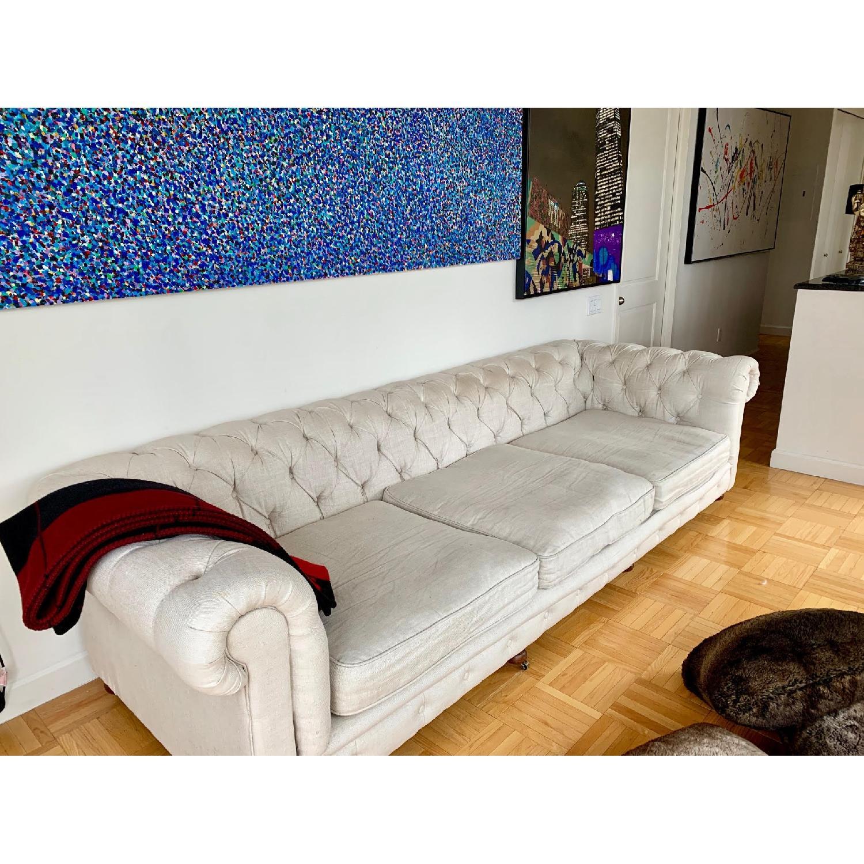 Restoration Hardware Kensington Luxe Edition Large Sofa - image-3