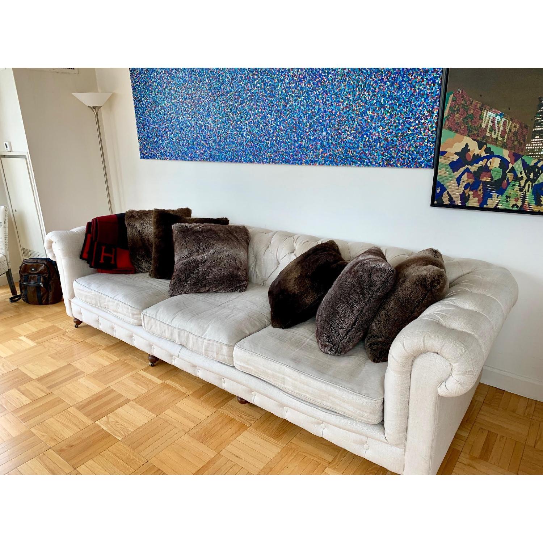 Restoration Hardware Kensington Luxe Edition Large Sofa - image-4