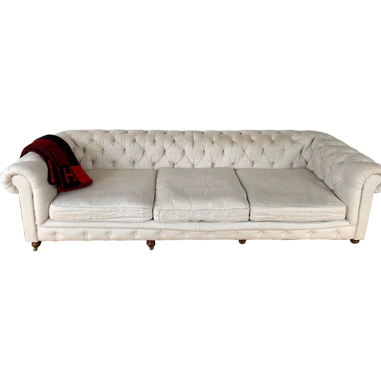 Restoration Hardware Kensington Luxe Edition Large Sofa - image-0
