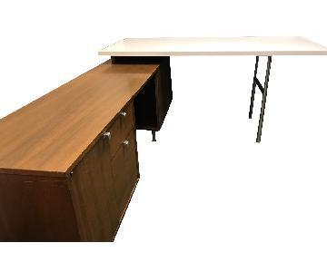 Vintage Herman Miller George Nelson EOG Desk