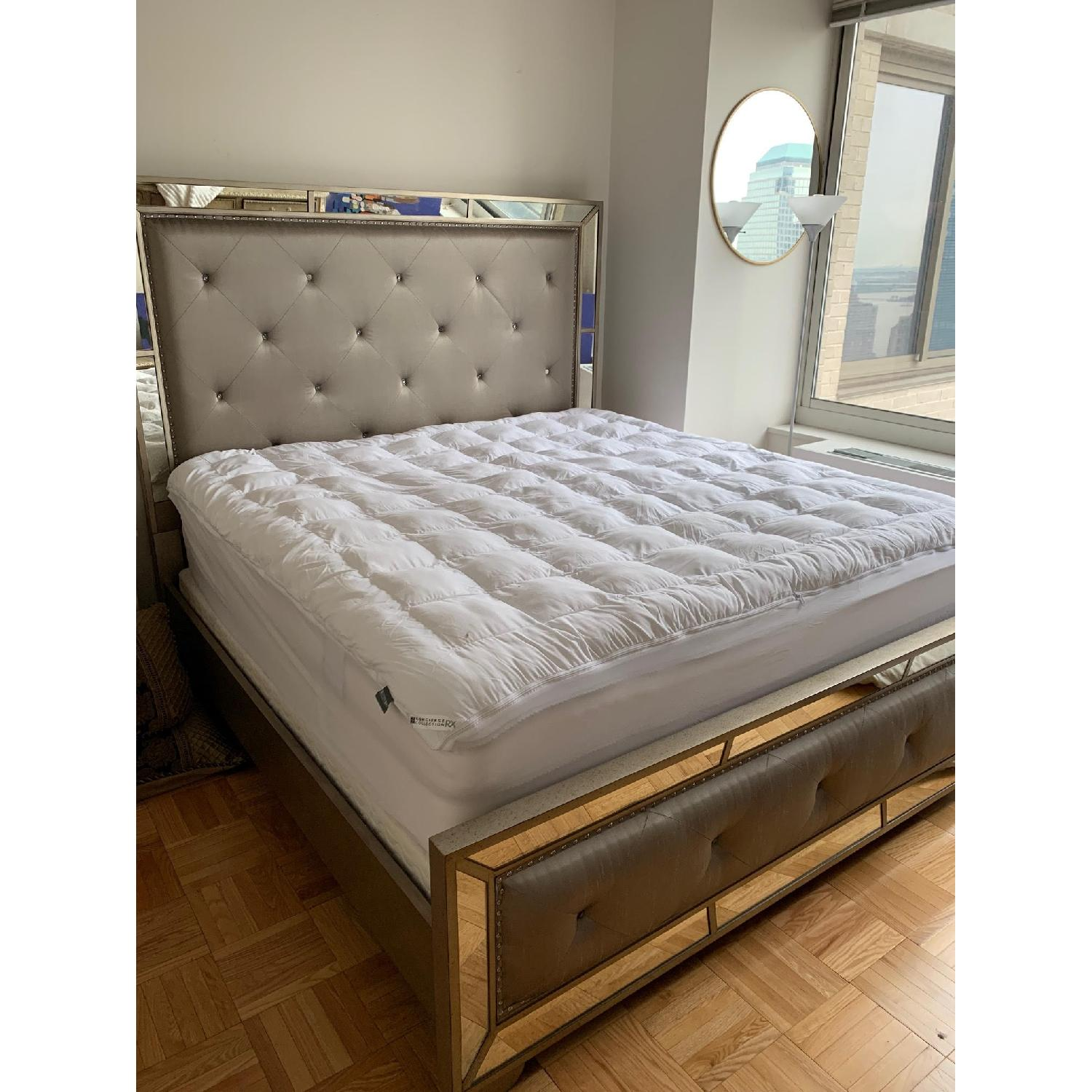 Neiman Marcus Horchow Lombard King Bed - image-1