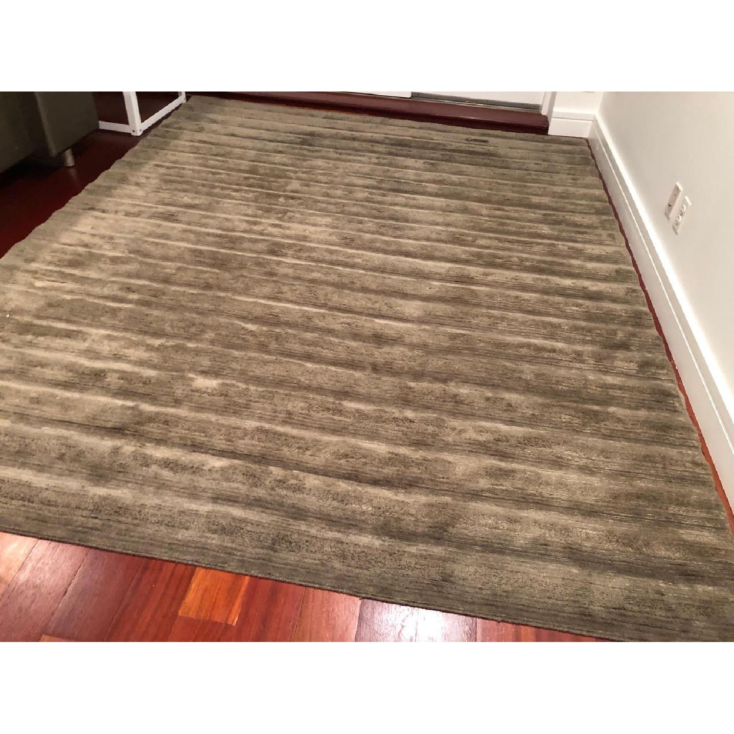 BDDW Ridged Swim Wool & Silk Area Rug - image-1