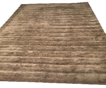 BDDW Ridged Swim Wool & Silk Area Rug
