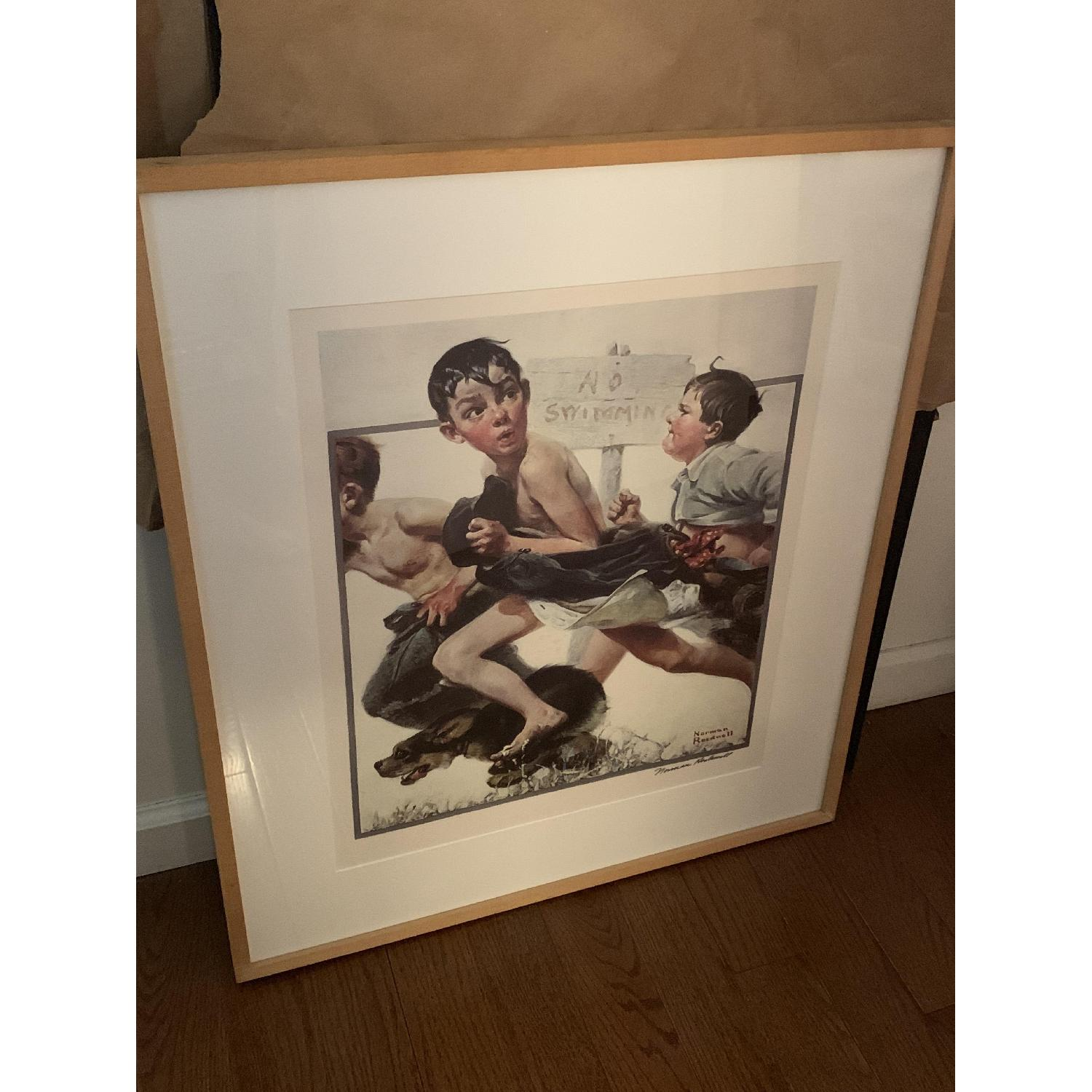 Signed Norman Rockwell Print - image-2