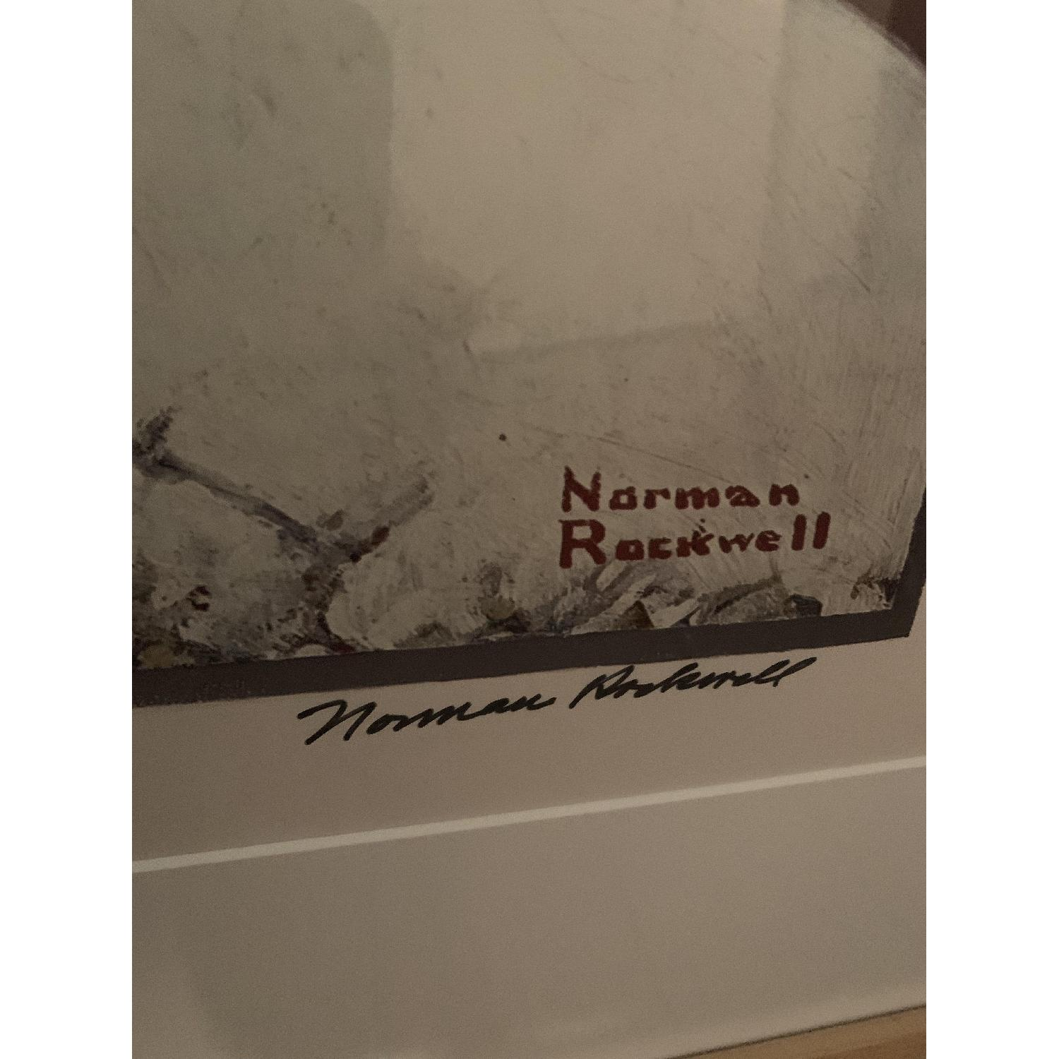Signed Norman Rockwell Print - image-3