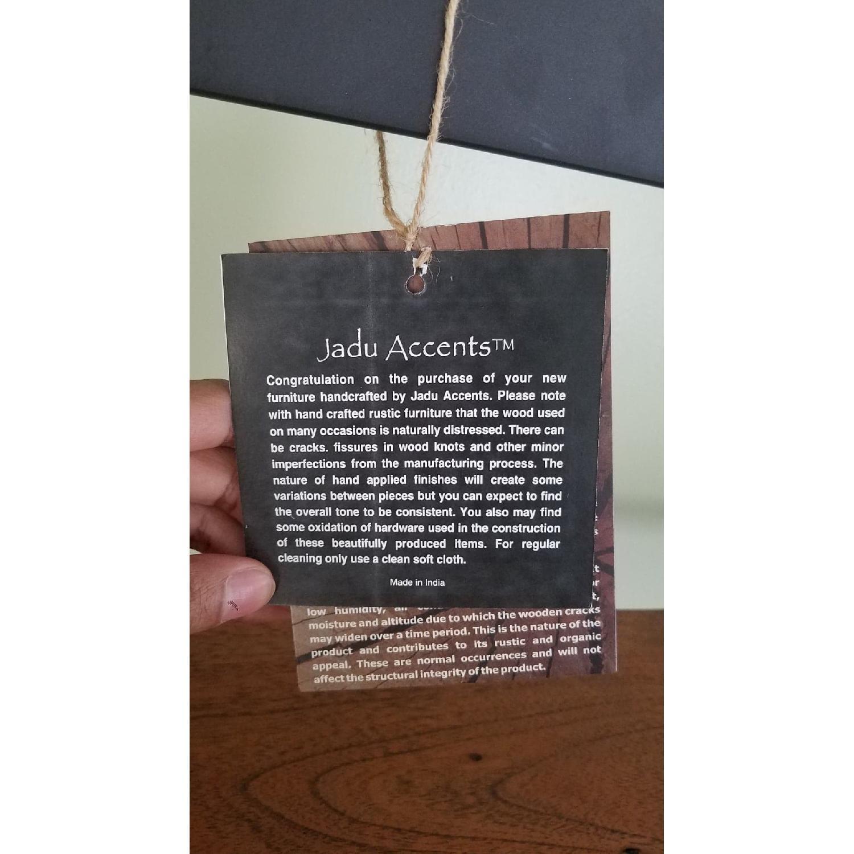 Jadu Accents Dining Room Acacia wood 3 Piece Wall Unit - image-4