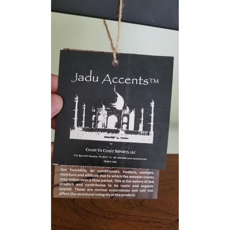 Jadu Accents Dining Room Acacia wood 3 Piece Wall Unit - image-5