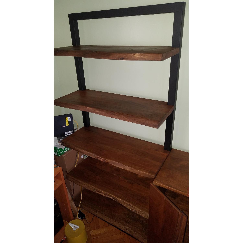Jadu Accents Dining Room Acacia wood 3 Piece Wall Unit - image-6