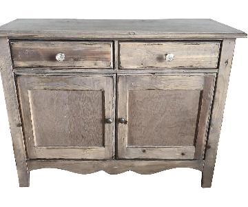 Distressed Wood Buffet/Media Storage