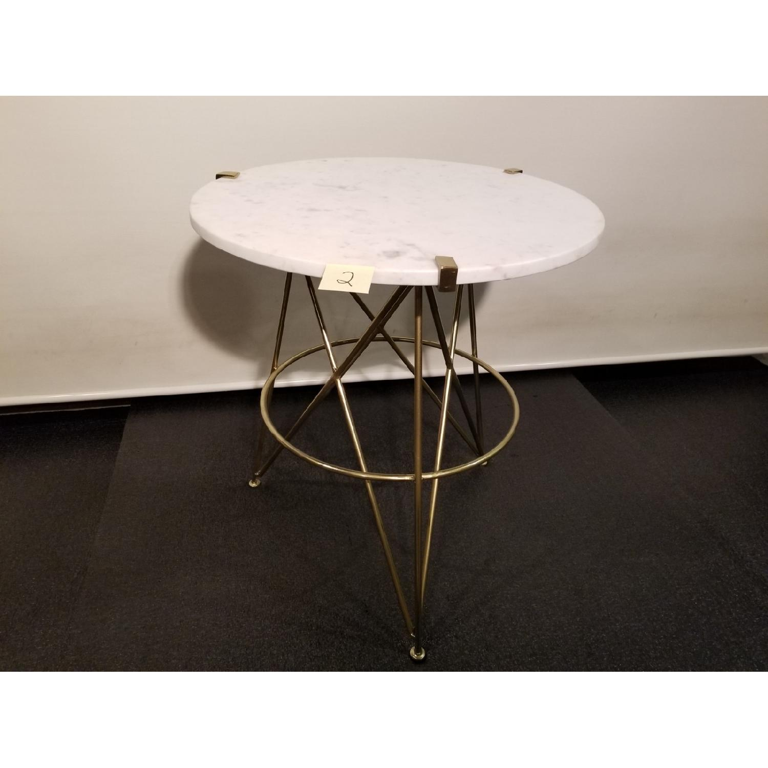 Marble Top Side Table - image-1