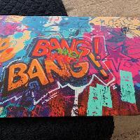 Bang Bang NYC Graffiti Art Print