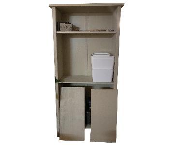 Ikea Light Grey-Wash Bookcase