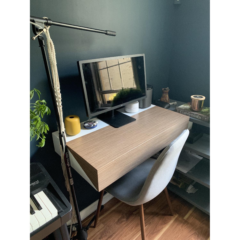 Orange22 Modern Hideaway Wall Desk Aptdeco