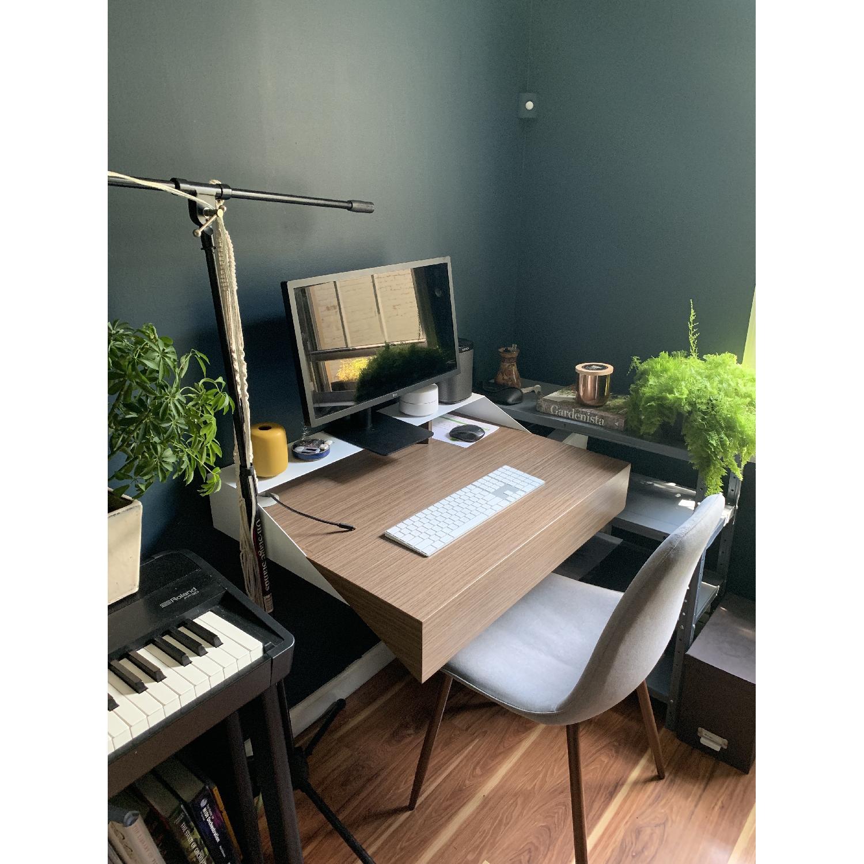 Orange22 Modern Hideaway Wall Desk - image-2
