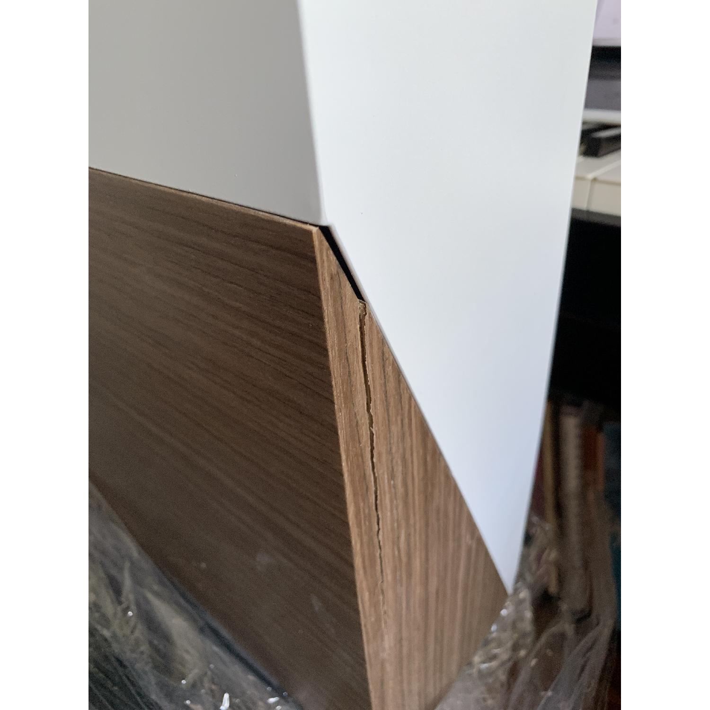 Orange22 Modern Hideaway Wall Desk - image-4