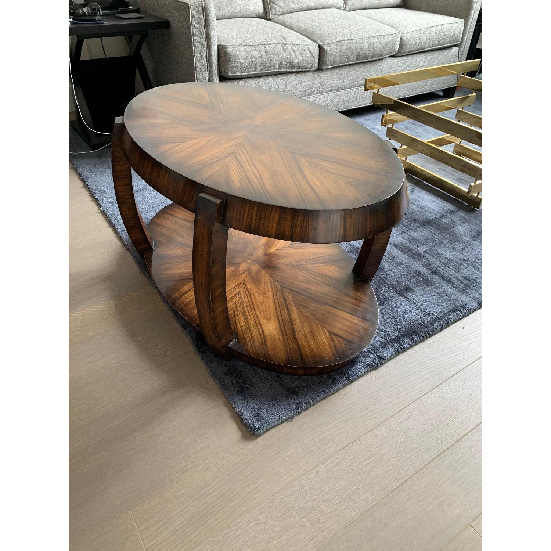 Custom Wood Coffee Table - image-1