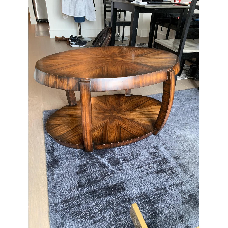 Custom Wood Coffee Table - image-3