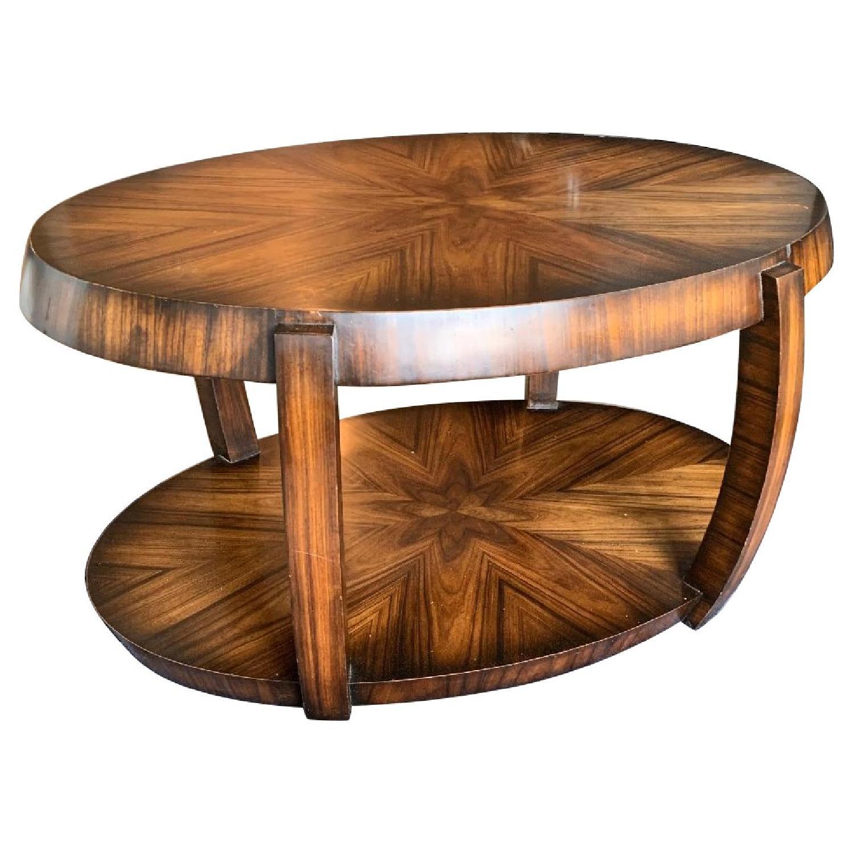 Custom Wood Coffee Table - image-0