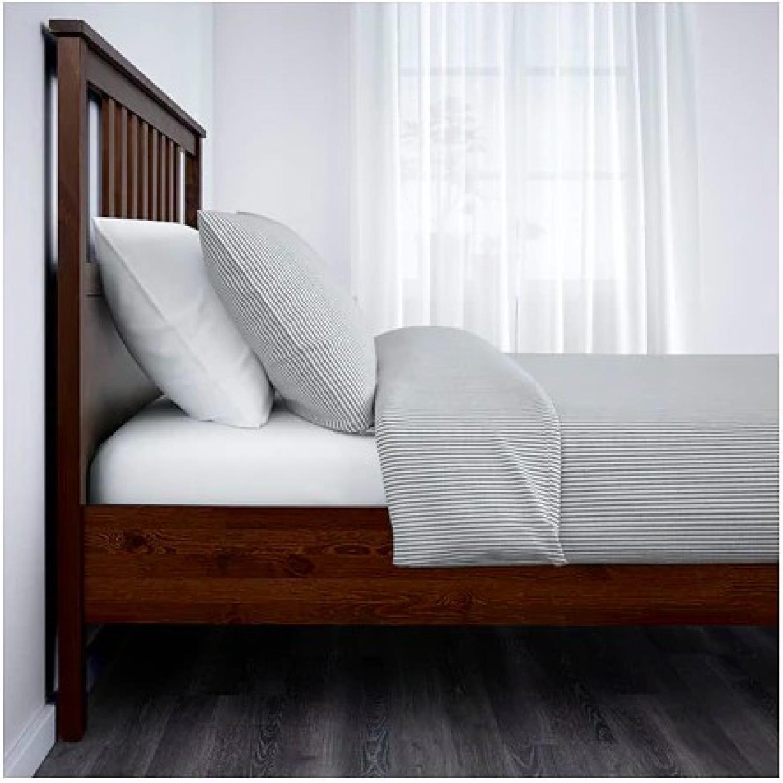 Ikea Hemnes Queen Bed Frame - image-1