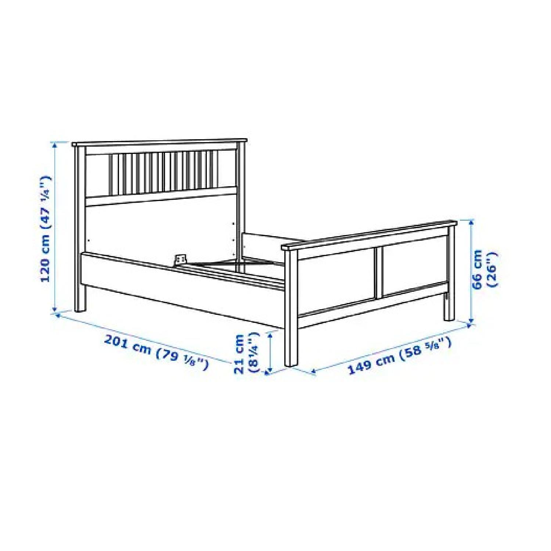 Ikea Hemnes Queen Bed Frame - image-2