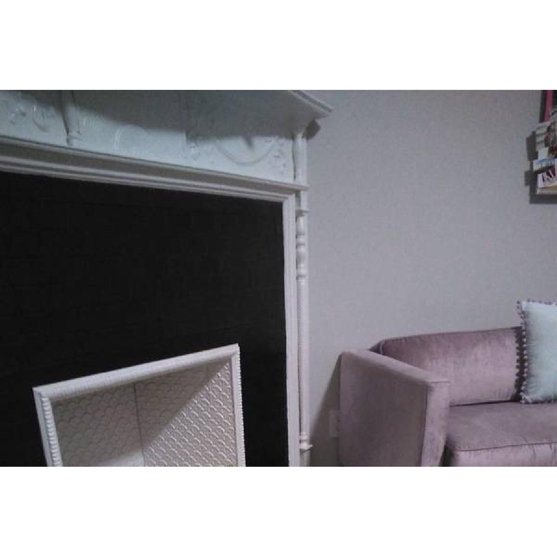 Urban Outfitters Piper Petite Velvet Sofa - image-4