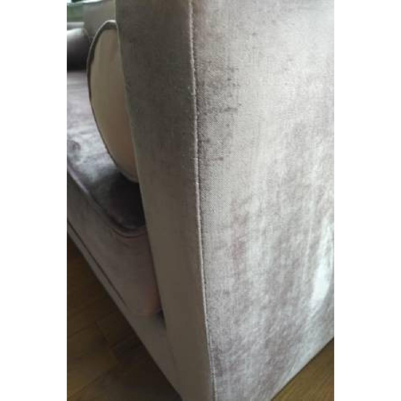 Urban Outfitters Piper Petite Velvet Sofa - image-5