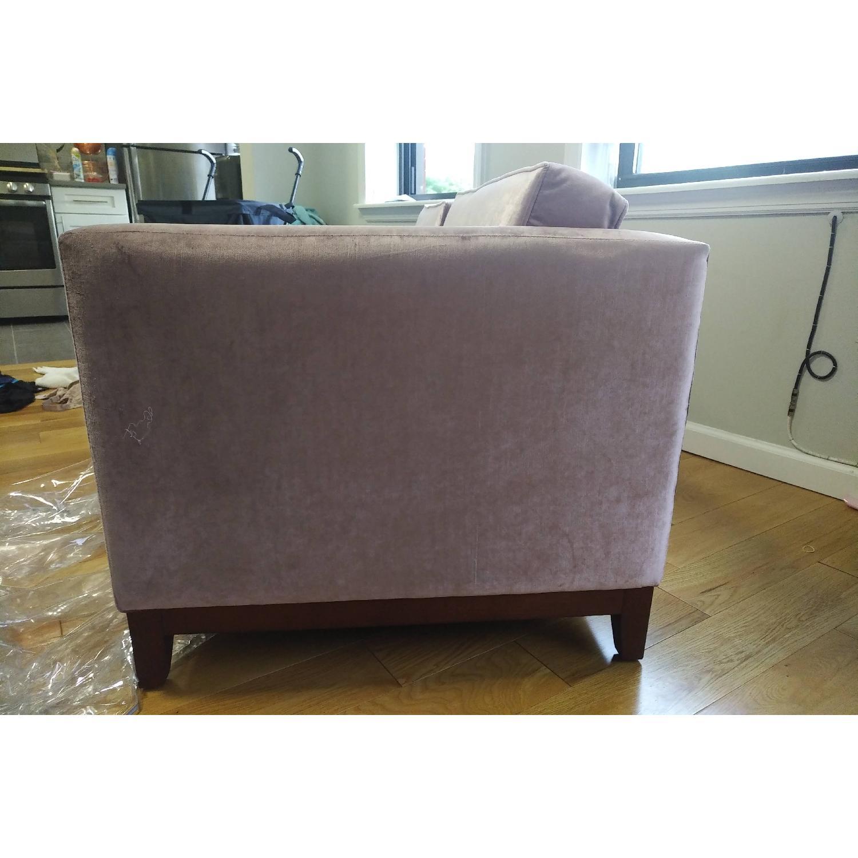 Urban Outfitters Piper Petite Velvet Sofa - image-6