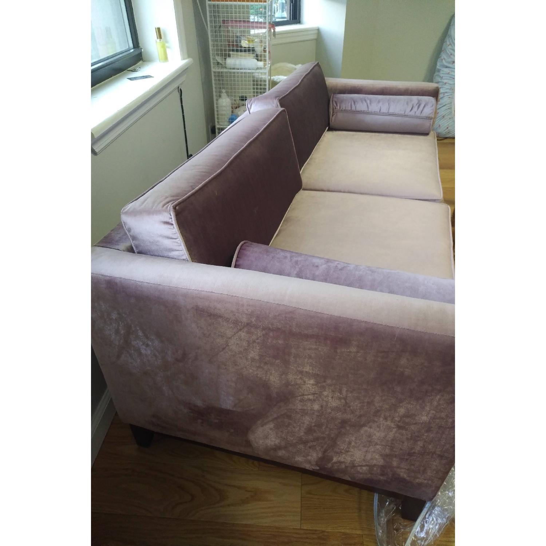 Urban Outfitters Piper Petite Velvet Sofa - image-7