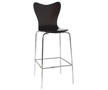 West Elm Scoop-Back Bar Stools