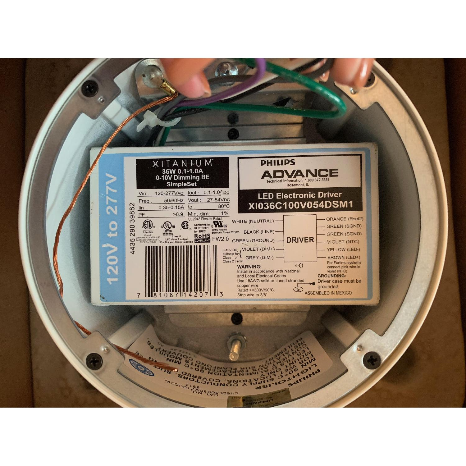 Philips Lightolier Calculite Surface Mount Downlight - image-1