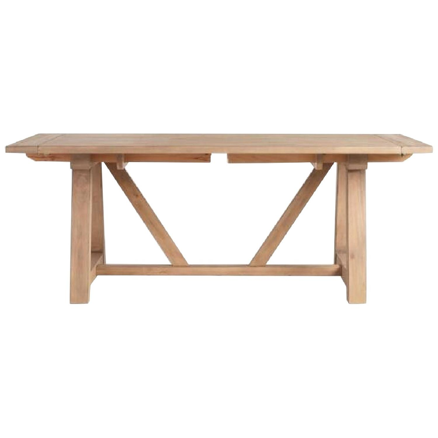 World Market Farmhouse Extension Dining Table - image-0