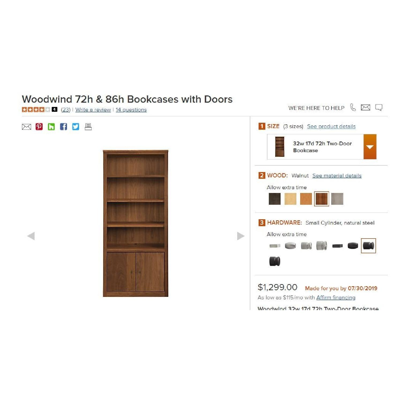 Room & Board Woodwind Bookcases in Walnut-0