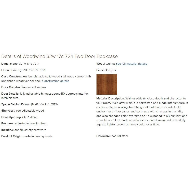 Room & Board Woodwind Bookcases in Walnut-1
