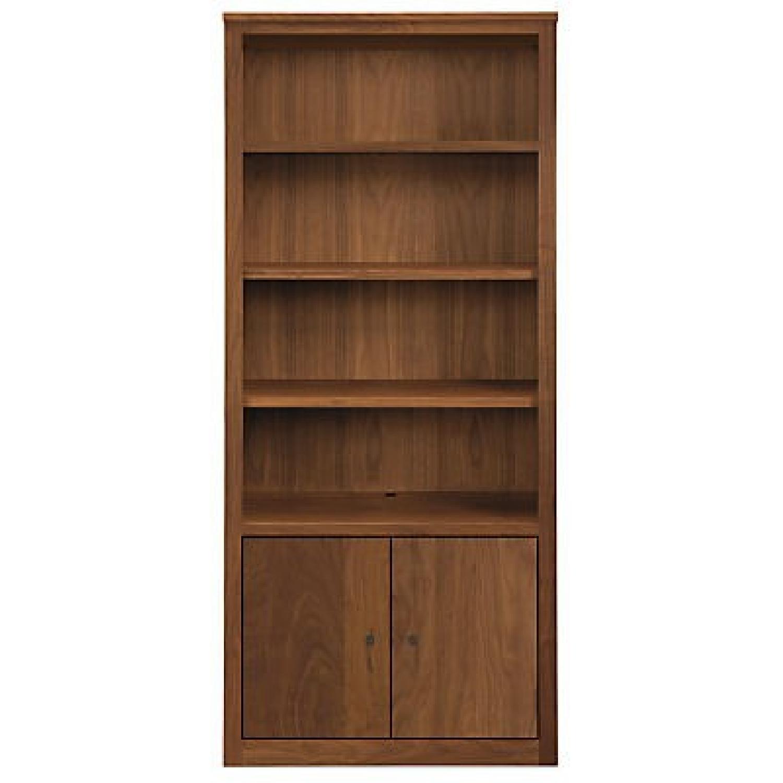 Room & Board Woodwind Bookcases in Walnut-3
